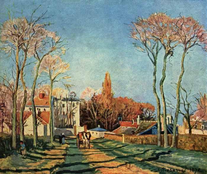 Camille Pissarro Painting