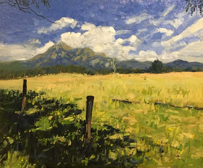 Mt Barney - Making An Adjustment
