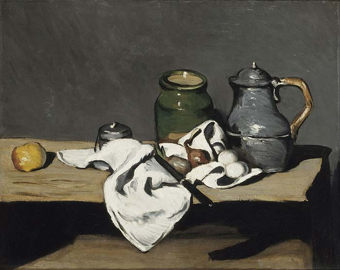 Still Life with an Open Drawer 1867 - 1869 Musée d'Orsay