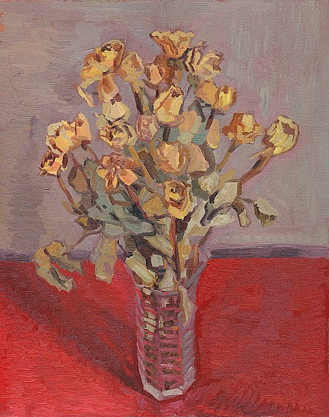 Ari Targownik, Flowers, 16x20 Inches