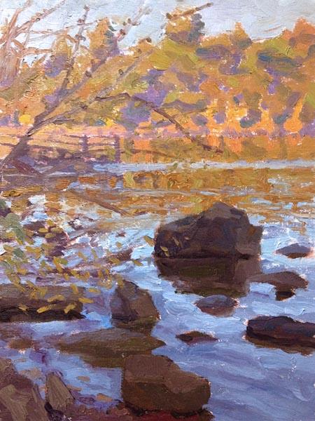 Ari Targownik, Howarth Lake, 9x12 Inches
