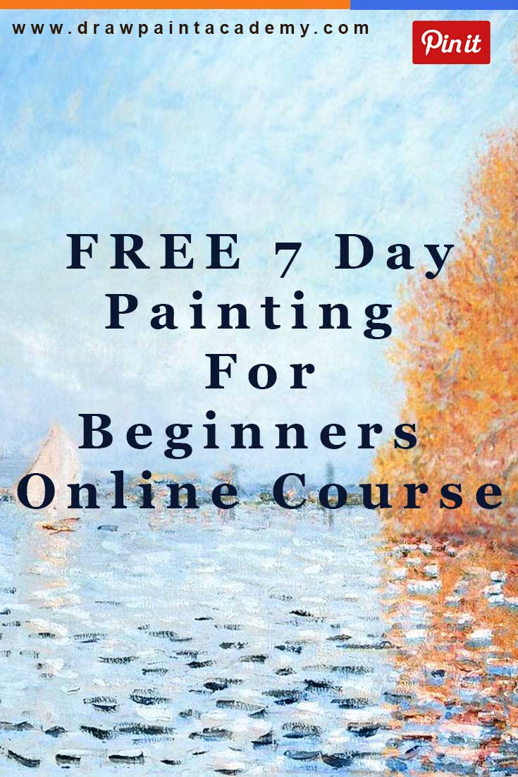 Want to learn how to paint but have no idea where to start? Join this absolutely free Painting For Beginners online course. The course is run over 7 days, with a lesson delivered each day straight to your inbox. Hope to see you there!