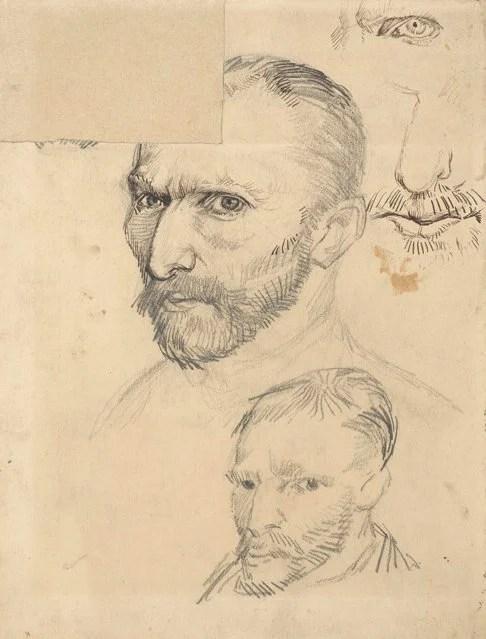 Vincent van  Gogh, Self-Portrait, Paris, 1886