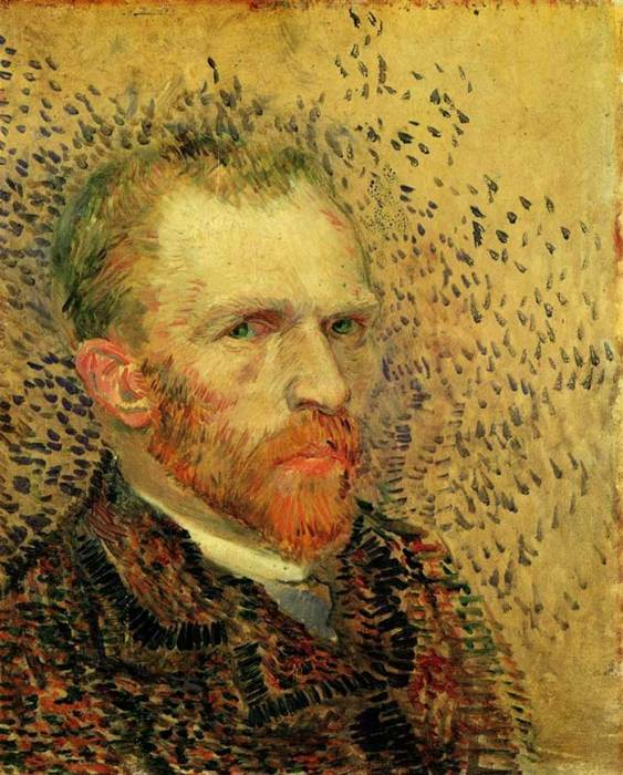 18. Vincent van Gogh, Self-Portrait, 1887