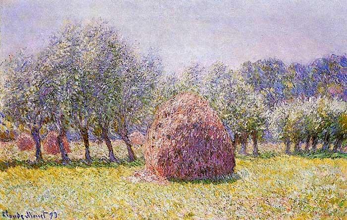 Claude Monet, Haystack, 1865
