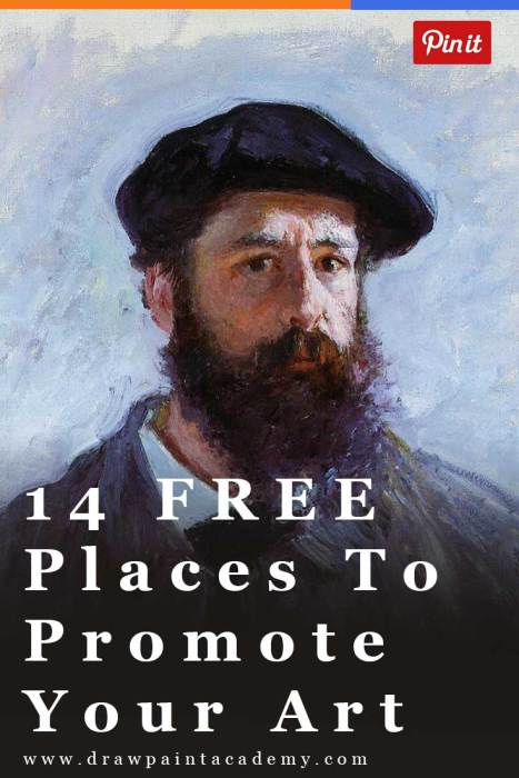 14 FREE Ways To Promote Your Art