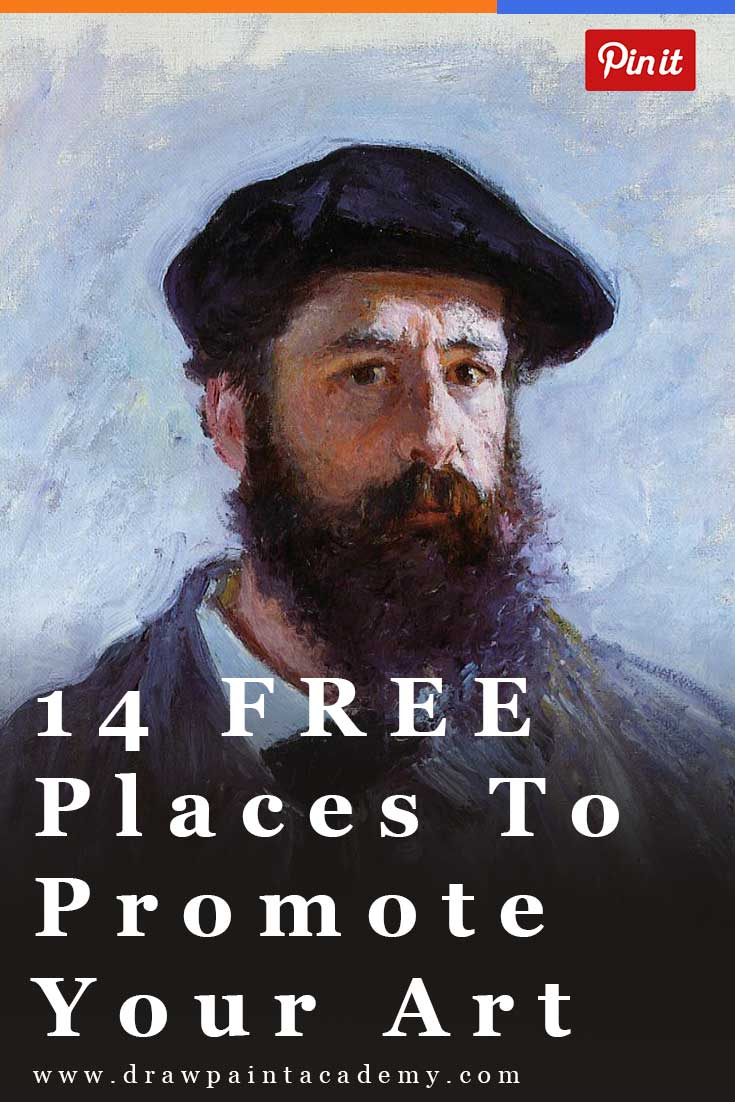 14 FREE Ways To Promote Your Art Online. Not sure how to promote your art? Try these free places which you can use to promote every artwork you finish.