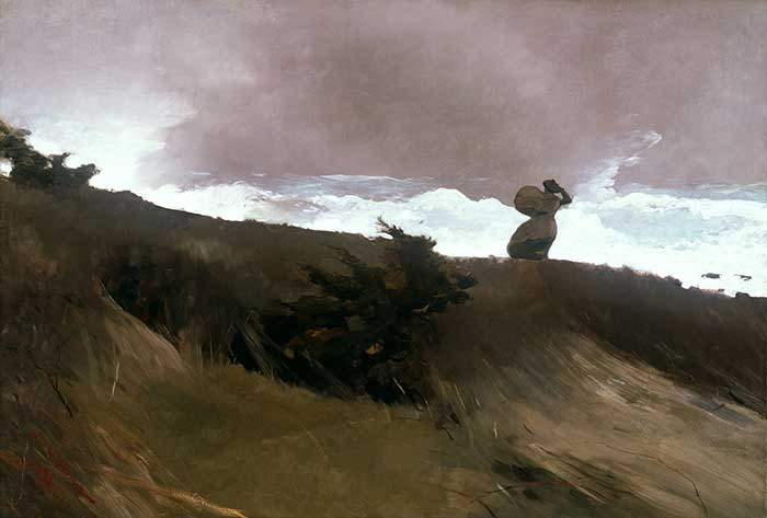 Winslow Homer, The West Wind, 1891