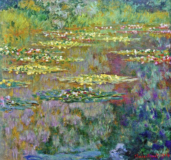 11. Claude Monet, Water Lilies (2), 1904
