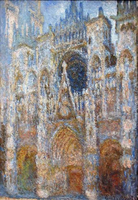 14. Claude Monet, Rouen Cathedral, Magic In Blue, 1894