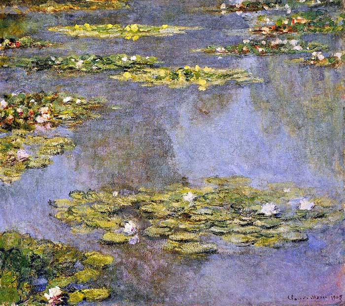 16. Claude Monet, Water Lilies (2), 1905