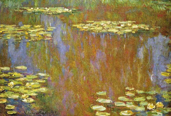 17. Claude Monet, Water Lilies (3), 1905