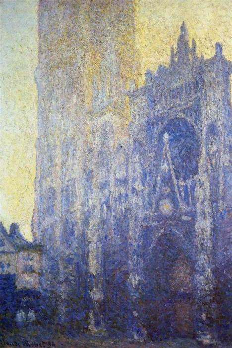 24. Claude Monet, Rouen Cathedral, The Portal, Morning Effect, 1894