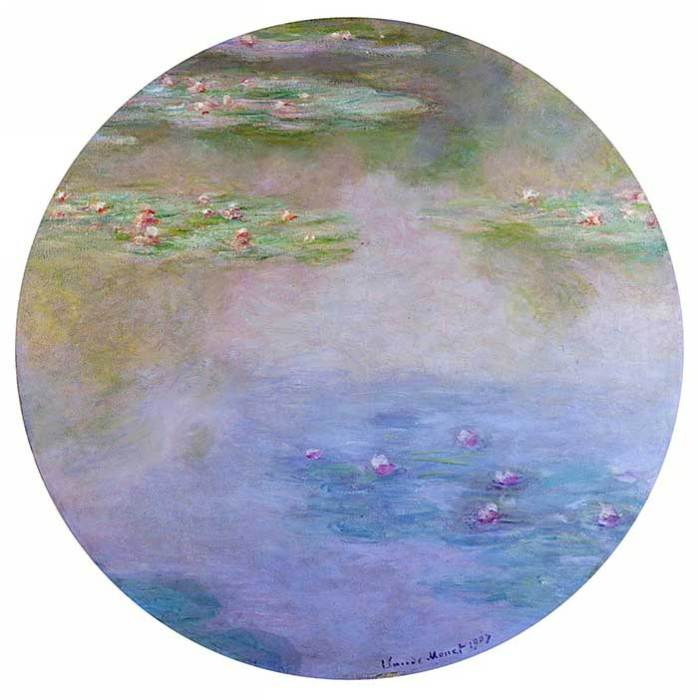 26. Claude Monet, Water Lilies (4), 1907