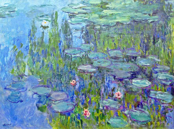 32. Claude Monet, Water Lilies, 1914