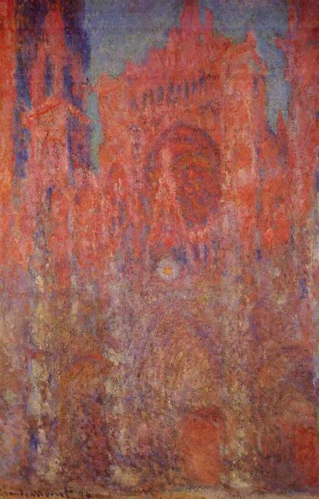 4. Claude Monet, Rouen Cathedral, 1894