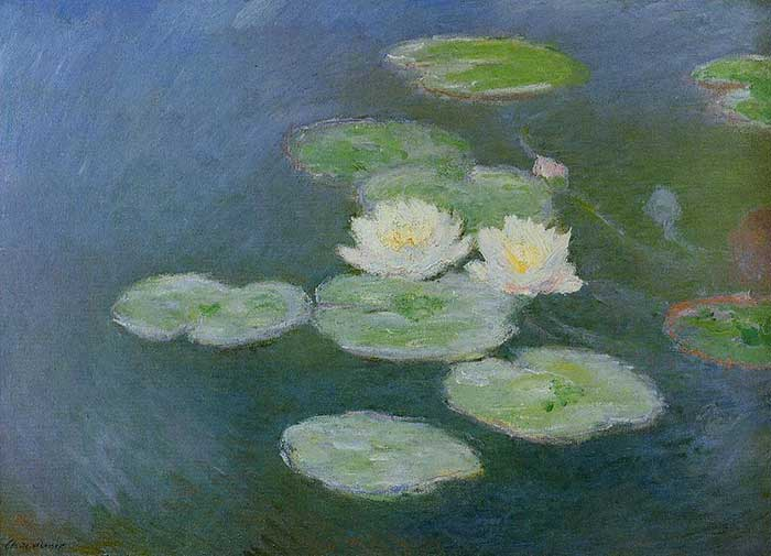 4. Claude Monet, Water Lilies, Evening Effect, 1897-1899