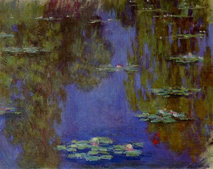 7. Claude Monet, Water Lilies (2), 1903