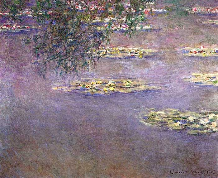 8. Claude Monet, Water Lilies (3), 1903