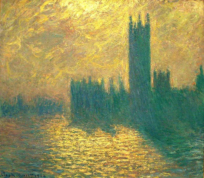 Claude Monet, Houses Of Parliament, 1904