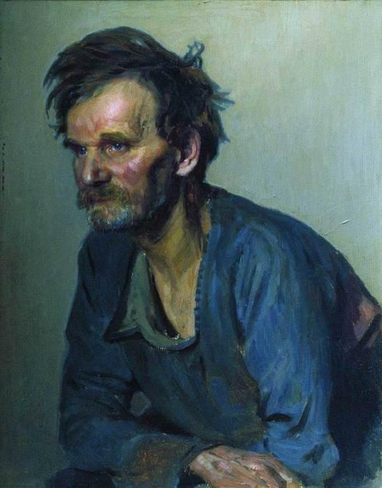 Ilya Repin, Academic Keeper Efimov, 1870