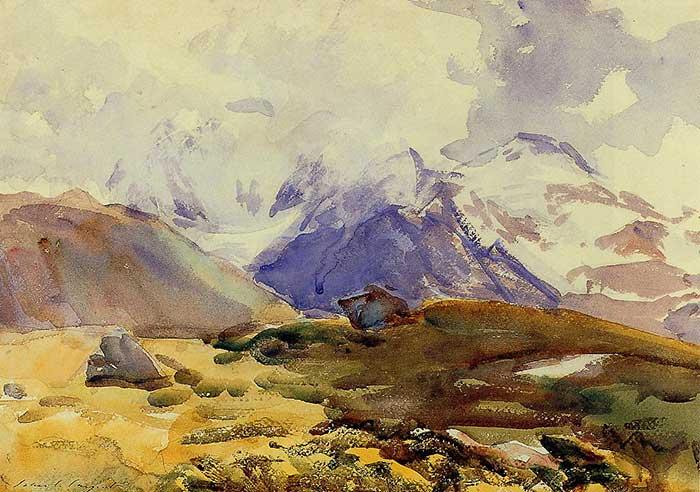John Singer Sargent, The Simplon, 1919
