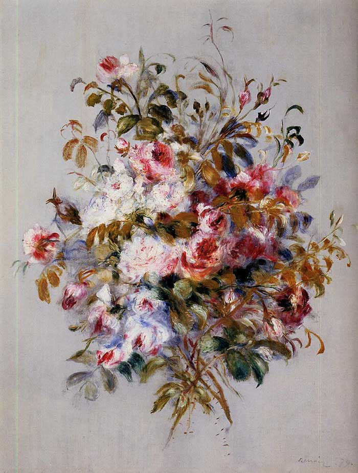 Pierre-Auguste Renoir, A Bouquet Of Roses, 1879