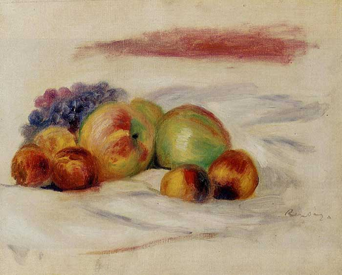 Pierre-Auguste Renoir, Apples And Grapes, 1910