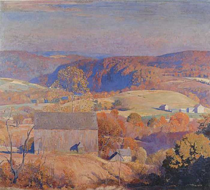 Daniel Garber, Autumn In Pennsylvania, 1941