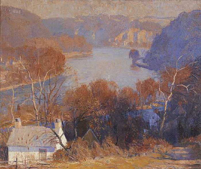 Daniel Garber, Down The River November, 1922