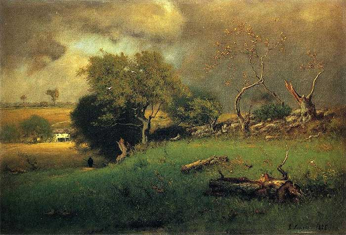 George Inness, The Storm, 1885