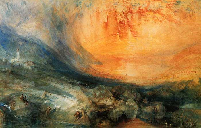 Turner, Goldau, 1841