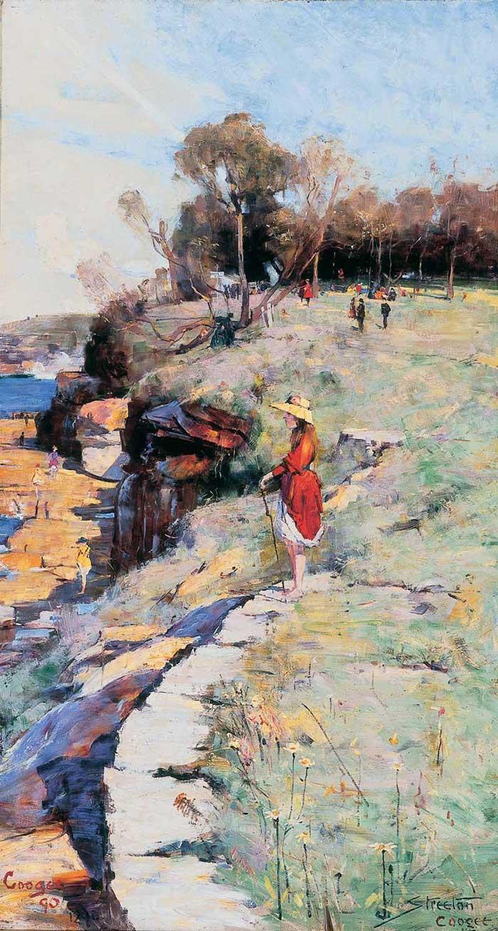 Arthur Streeton, Sunlight Sweet, Coogee, 1891
