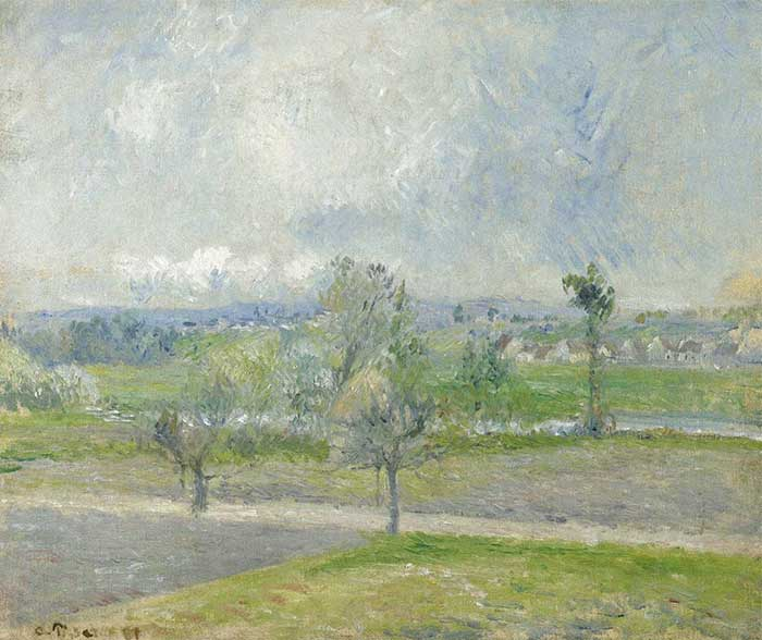 Camille Pissarro, Valhermeil Near Oise, Rain Effect, 1881