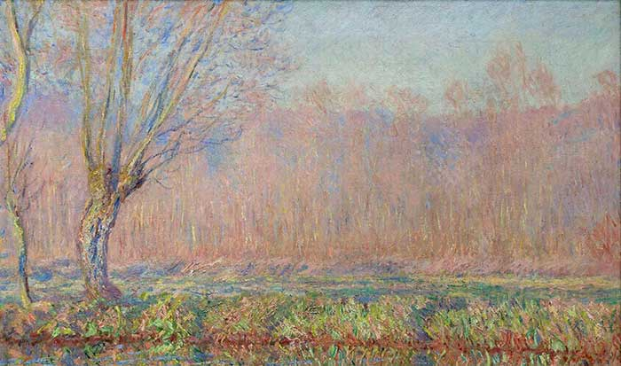Claude Monet, The Willows, 1885