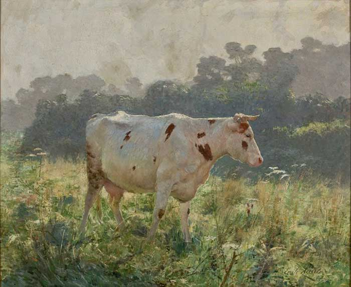 Analogous Color Palette | Emile Claus, Cow