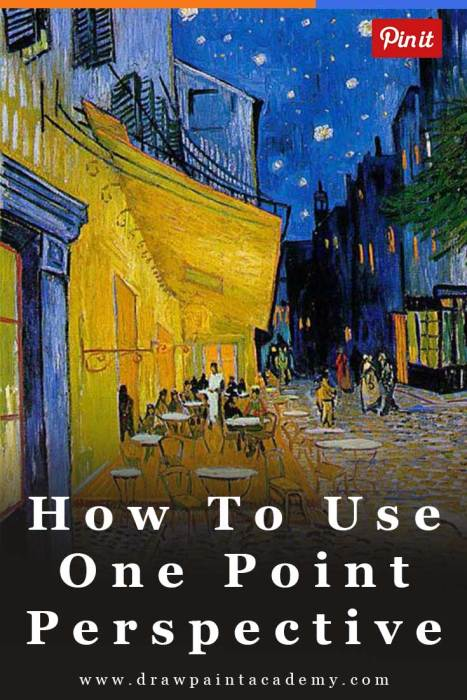 How To Use One Point Perspective To Improve Your Artworks | One Point Perspective | Drawing | Painting | One Point Perspective Art Lessons