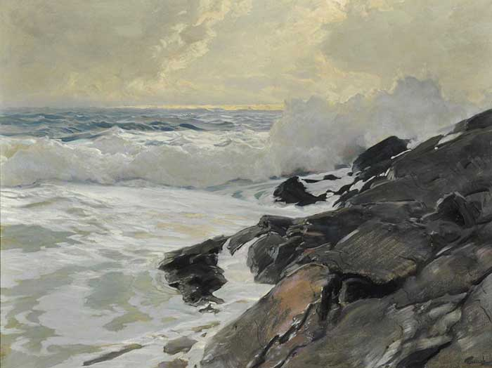 Frederick Judd Waugh, Along The Coast