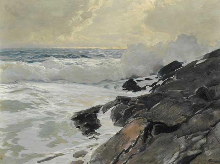 Frederick Judd Waugh, Along The Coast