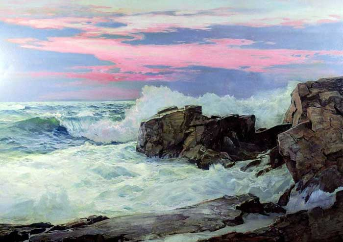 Frederick Judd Waugh, Close Of Day