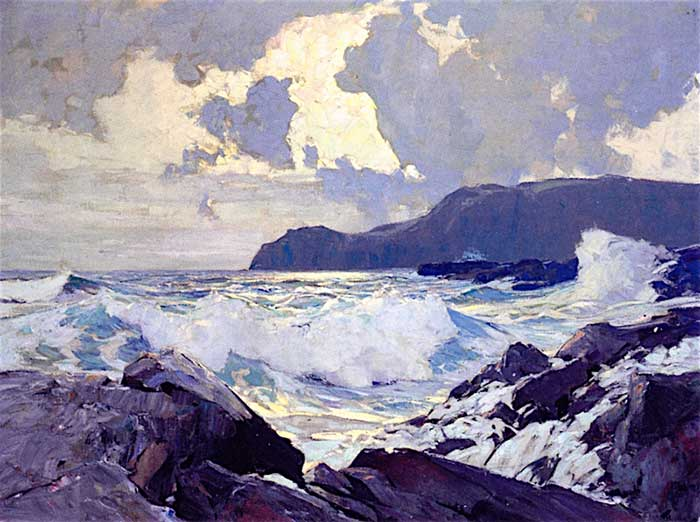 Frederick Judd Waugh, Winds And Seas