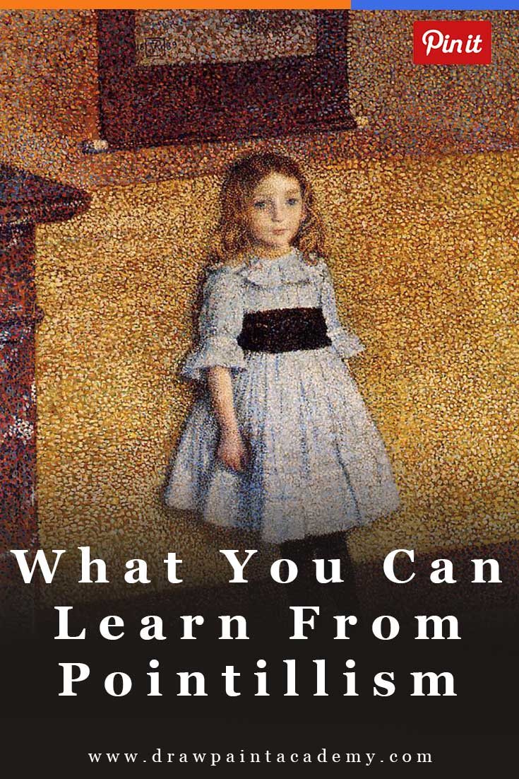 What You Can Learn From The Pointillist Art Movement | Pointillism Art | Pointillist Art Projects | Art Movements | Painting For Beginners | Art Ideas