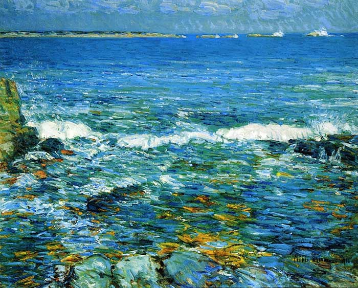 Childe Hassam, Duck Island From Appledore, 1911