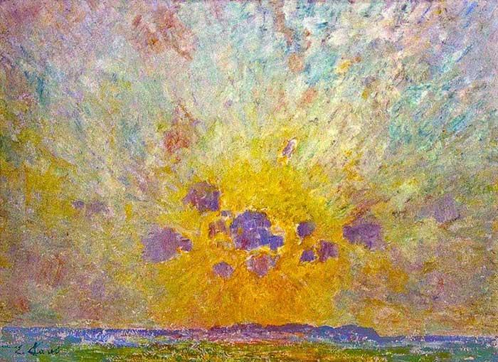 Emile Claus, Zonnegloed, 1905