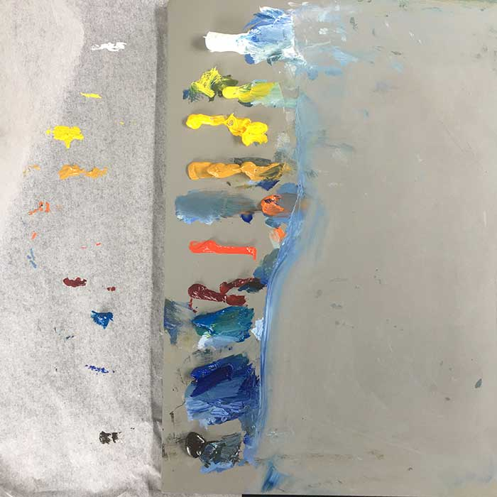 Oil Paint Drying Time - How To Stop Paint Drying On Palette 2