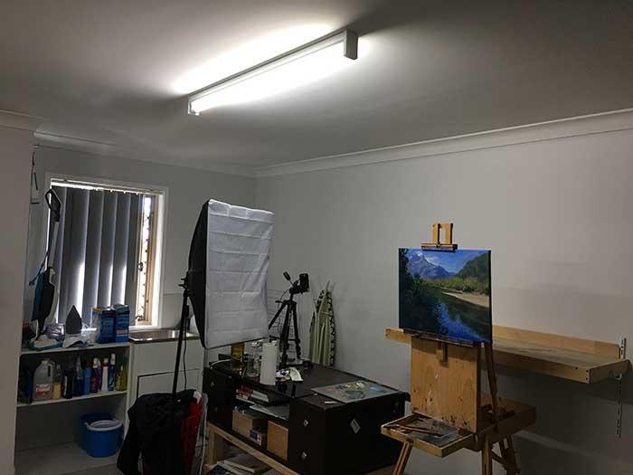 art studio lighting how to properly