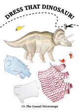 Dress That Triceratops!