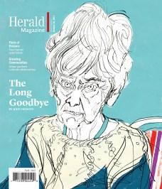 Portrait of Joan. Herald Magazine.