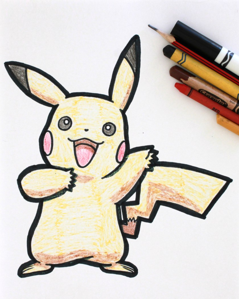 Pikachu Drawing