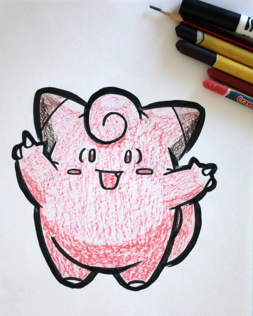 Clefairy Drawing